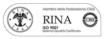 Rina ISO 9001 certificazione
